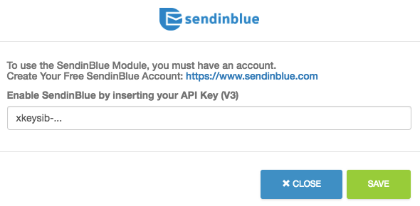Integrating appyReward with SendinBlue – Sendinblue